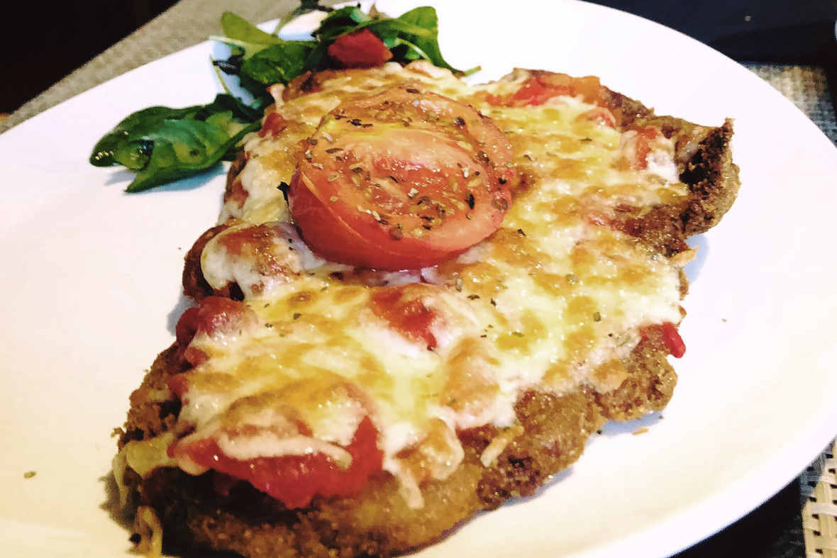 Chicken Milanesa Box