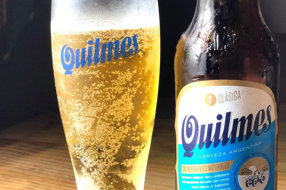 Quilmes Argentinian Beer